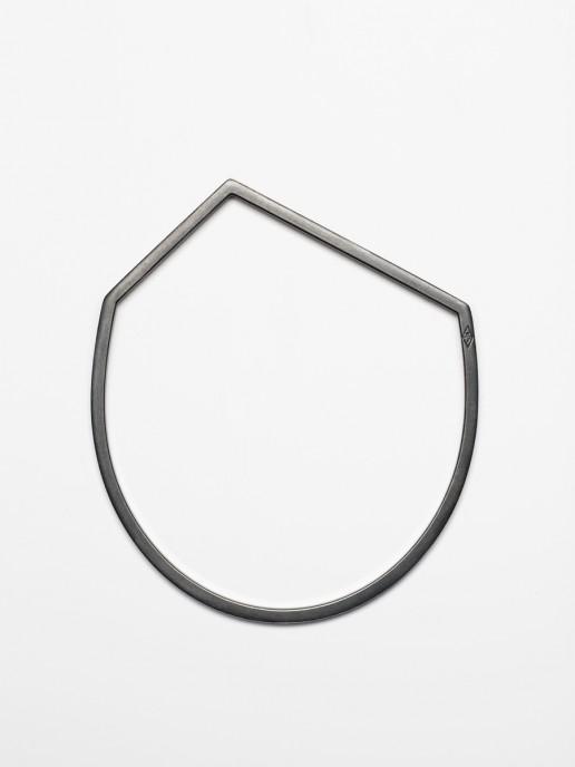 Notre Projet Black Asymmetric Bracelet