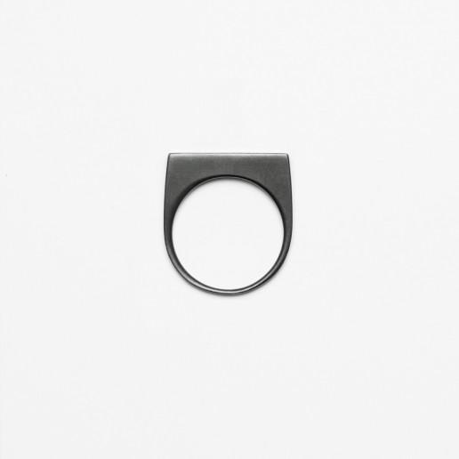 Notre Projet black block ring